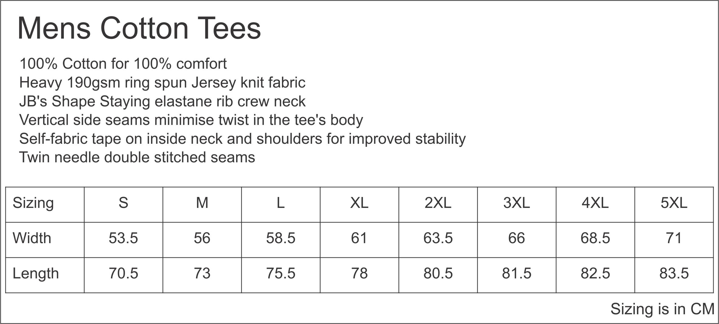 Product sizes shirttee view product specification nvjuhfo Images